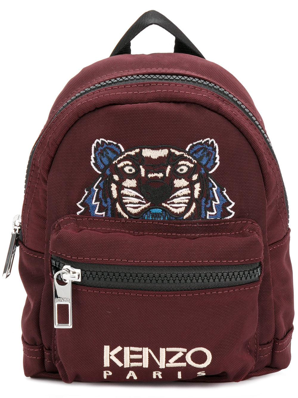 Lyst Kenzo Mini Tiger Canvas Backpack For Men
