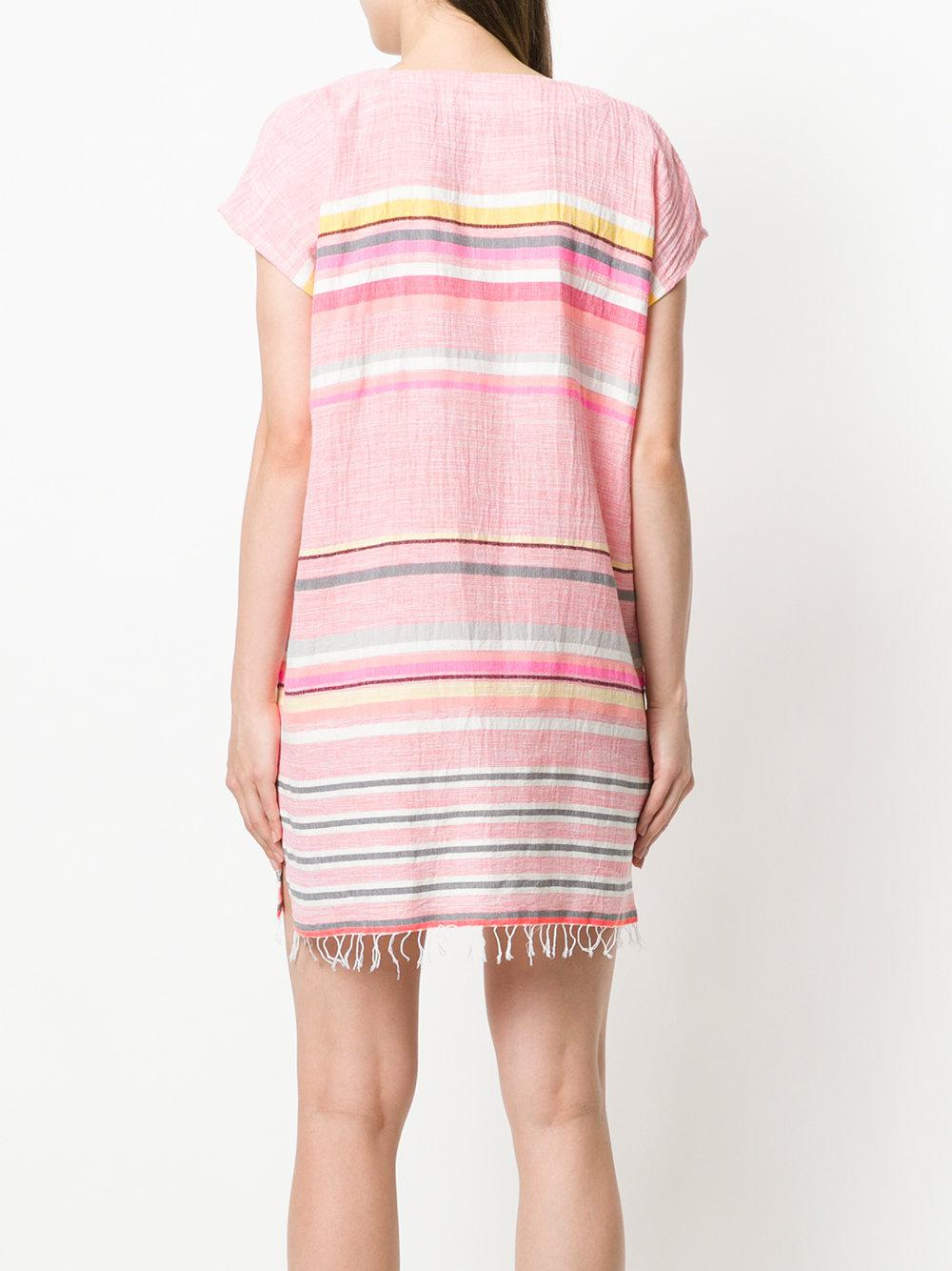 d3c0784afd2d lemlem Striped Sundress in Pink - Lyst