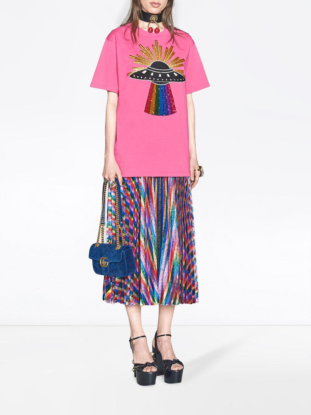ae43b3a2e3a1 Lyst - Gucci GG Marmont Velvet Mini Bag in Blue - Save 12%