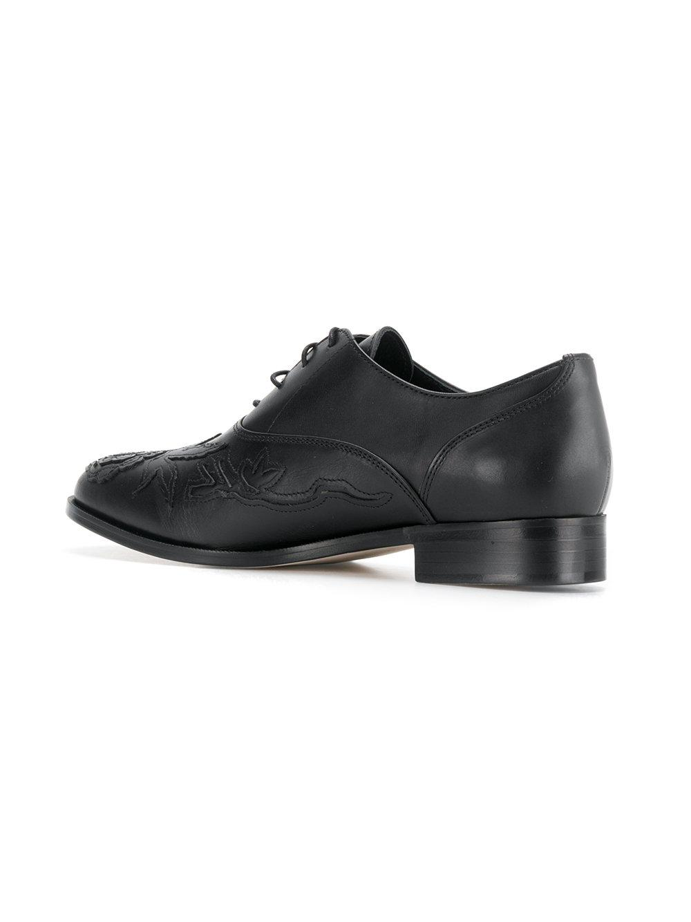 Y'S Embroidered front brogues bcIN7wNcF