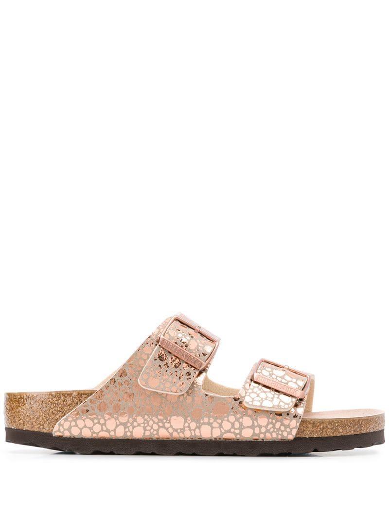 5528204977d2e8 Lyst - Birkenstock Arizona Sandals in Pink
