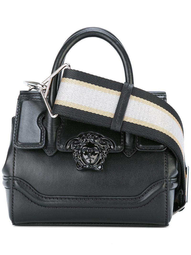 c5133d7b1ed4 Lyst - Versace Mini Palazzo Empire Shoulder Bag in Black