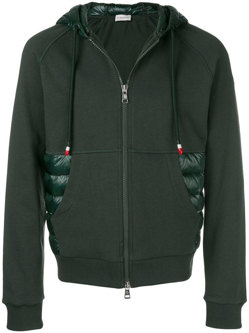 moncler green sweatshirt