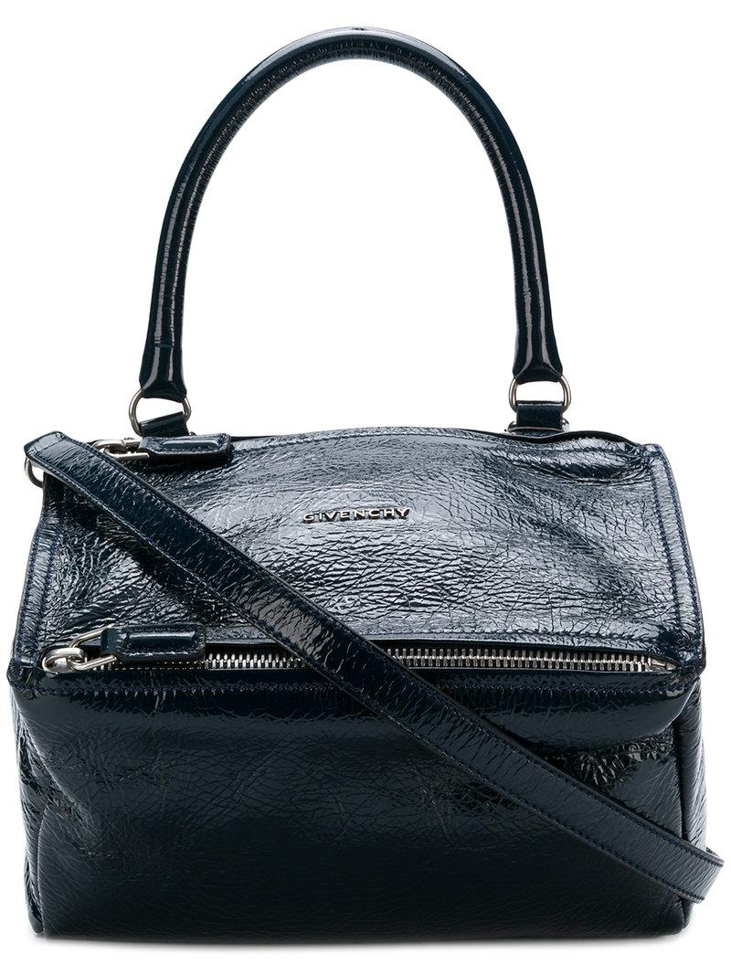 ad90a19ad5a Lyst - Givenchy Pandora Tote in Blue