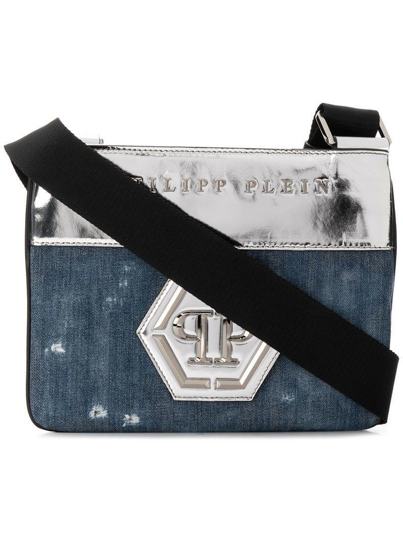 d179ba9d6b Philipp Plein Original Crossbody Bag in Blue for Men - Lyst