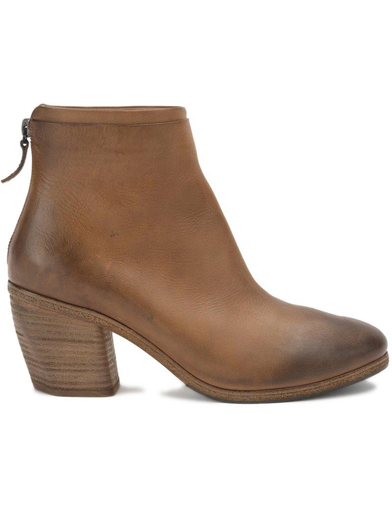 MARSèLL High zipped ankle boots