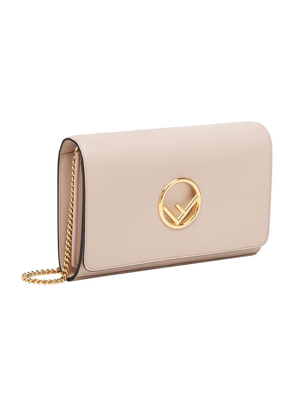 Chain L wallet bag - Pink & Purple Fendi dvX5oJmsCJ