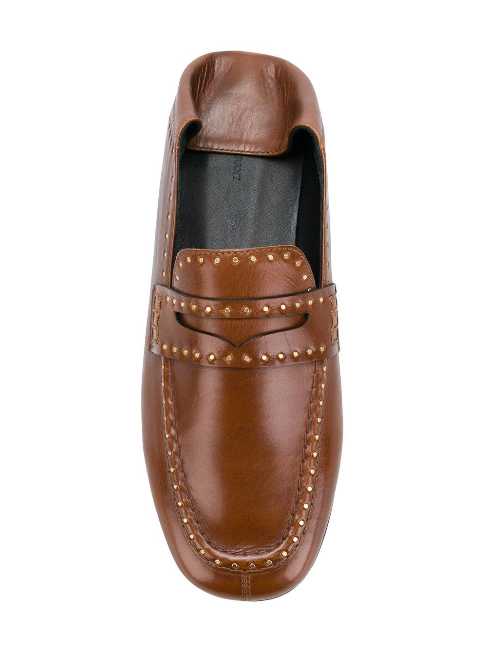 4a77645e210 Lyst - Isabel Marant Fezzy Loafers in Brown