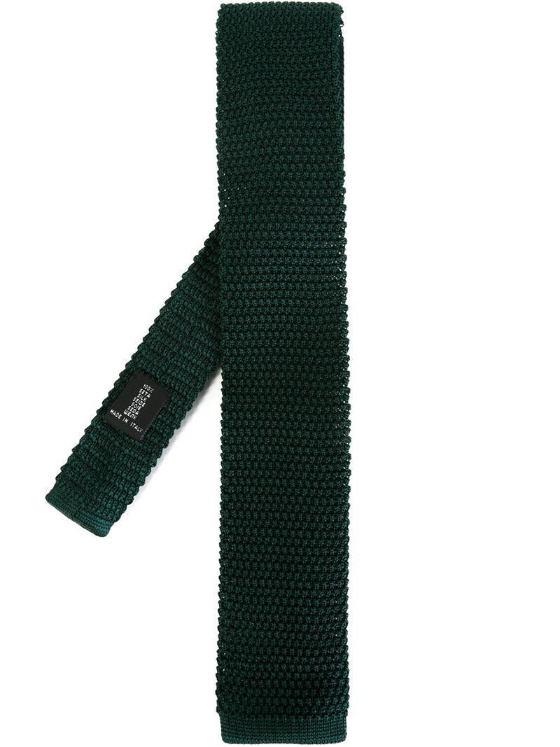 Cravate Tricot - Clinique De Mode Intemporel Blanc Ejc4I8xS
