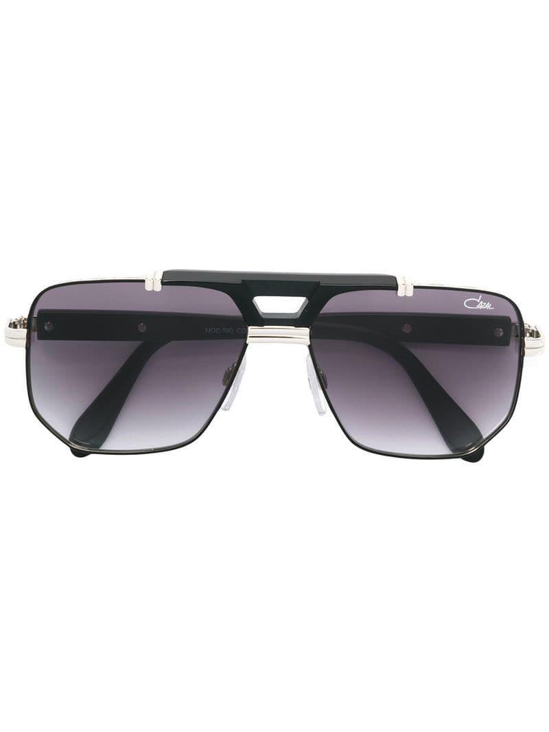 5267cfebaa1 Lyst - Cazal Aviator Tinted Sunglasses in Metallic for Men
