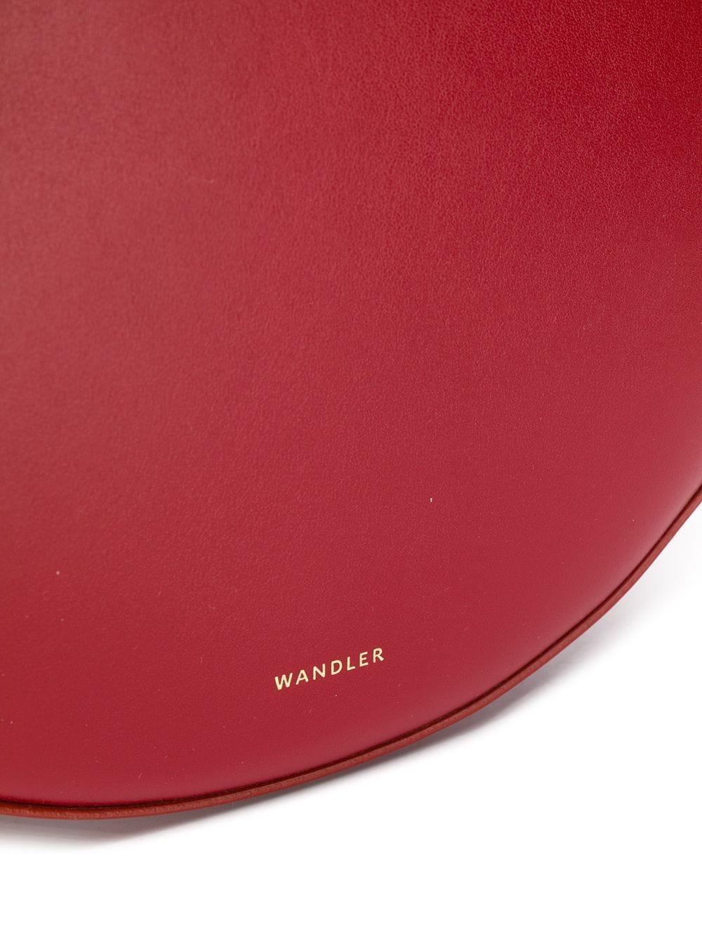 97b81b72b0 Wandler - Red Hortensia Medium Tote Bag - Lyst. View fullscreen