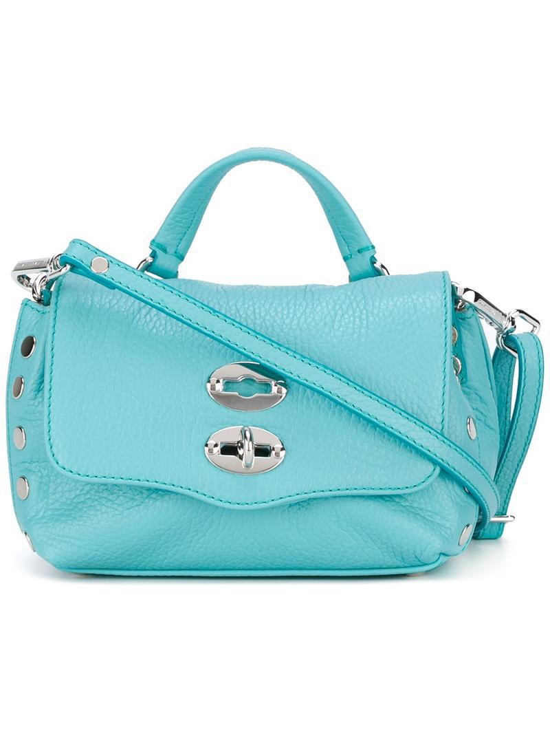 small Postina bag - Blue Zanellato Outlet For Sale Sast Sale Online How Much Cheap Online eMWTJ