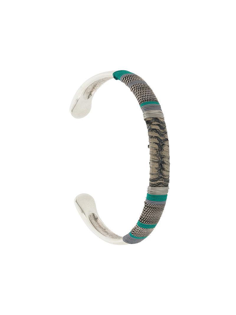 Gas Bijoux Billy bracelet - Metallic Dq2PoG4NOl