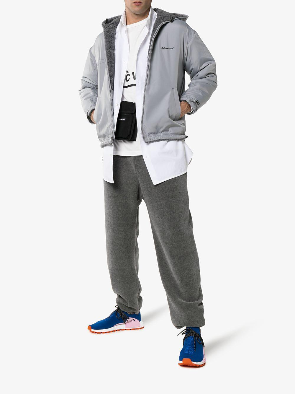 589737af3 Lyst - adidas X Pharrell Williams Blue Human Body Nmd Sneakers in Blue for  Men