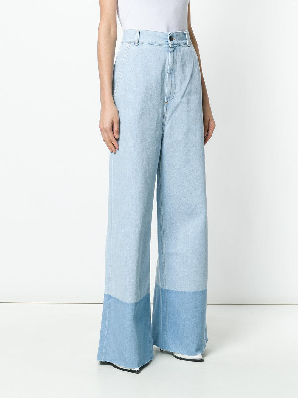 Ports 1961 long straight leg jeans Outlet Free Shipping IVisfuIyup