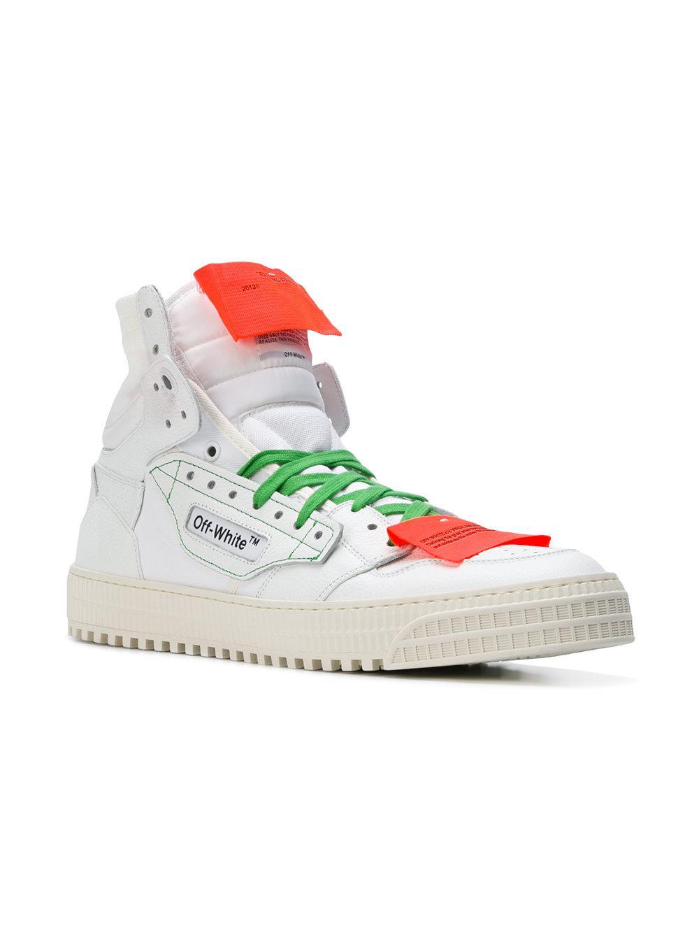 719ab7190d81 Off-White c o Virgil Abloh 3.0 Hi-top Sneakers in White for Men - Lyst
