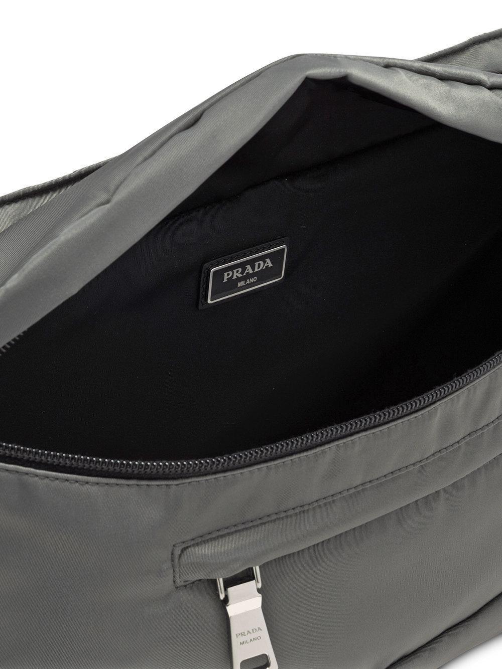 44b0d92afcf3 ... ebay prada gray trio compartment belt bag for men lyst. view fullscreen  51183 ef741