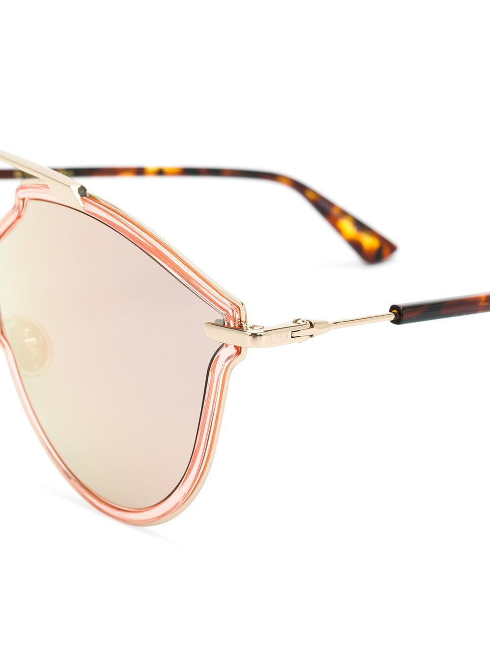 So Real Rise sunglasses - Metallic Dior o7xB4l