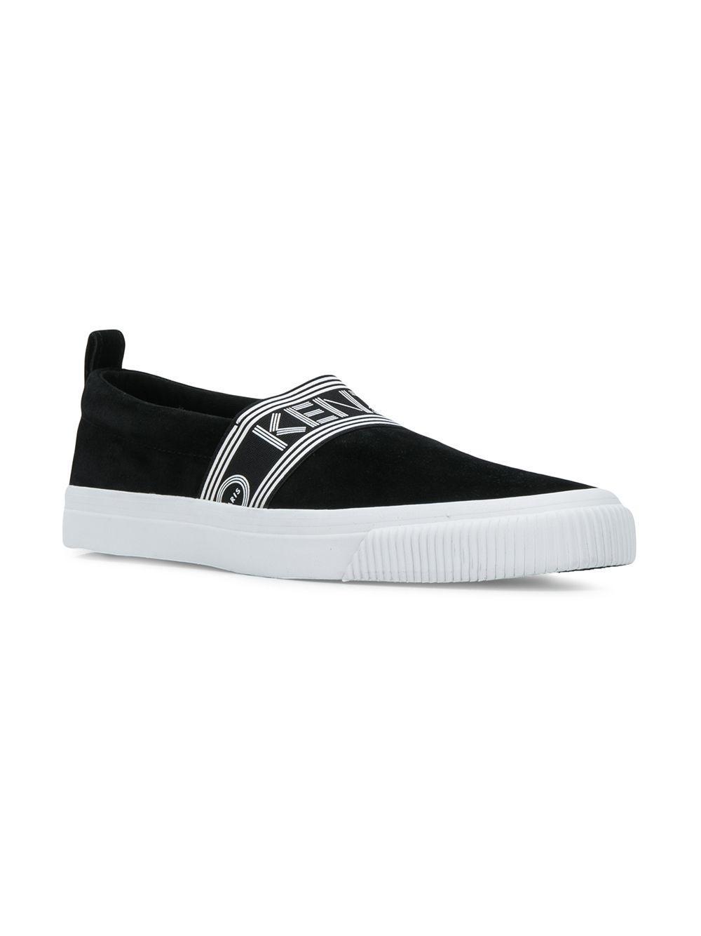 3642dcf7e10a Lyst - KENZO Kapri Slip-on Sneakers in Black - Save 36%