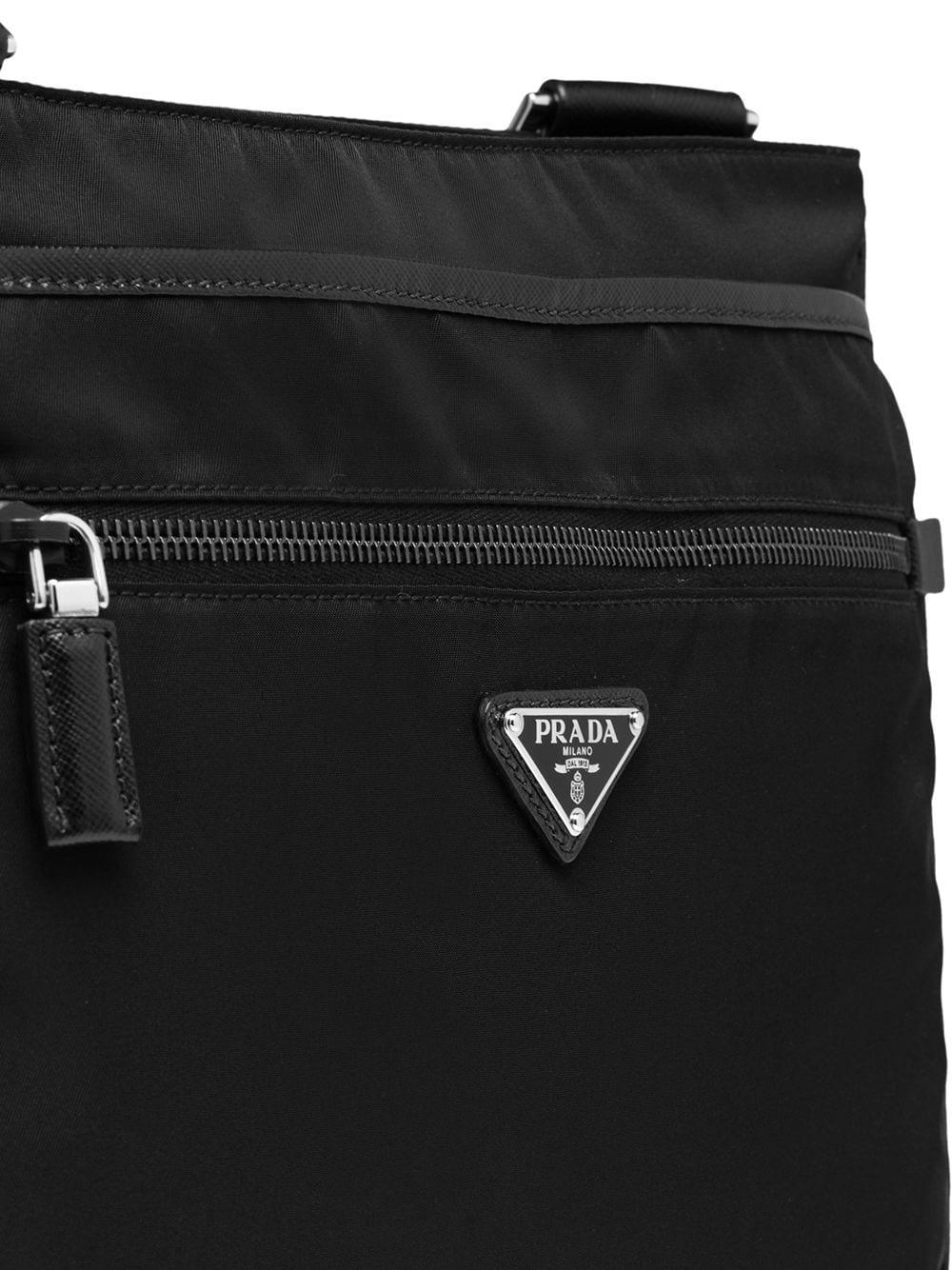 78553c7b1ec5 ... new style prada black nylon bag for men lyst. view fullscreen e220c  05a17