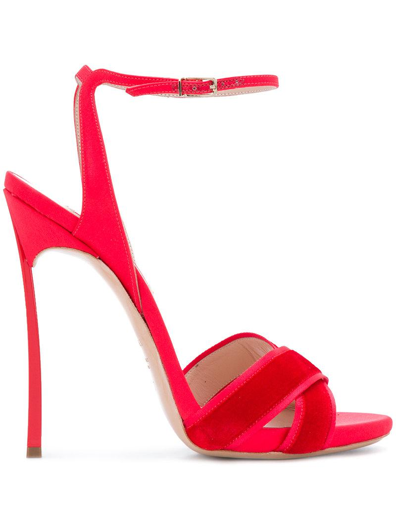 Casadei Spartiates Crossover - Rouge 4HDHuwi2Gq