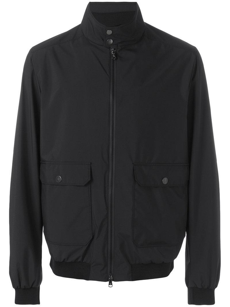 5172fa48ad6c Moncler Verte Jacket in Black for Men - Lyst