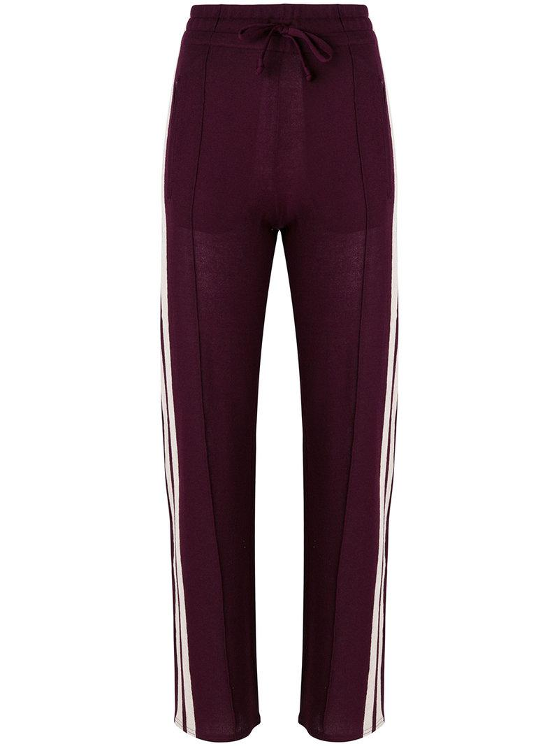 Grey Outlet Store Online striped track trousers - Pink & Purple Isabel Marant Extremely Cheap Online Cheapest lhT0n6cz