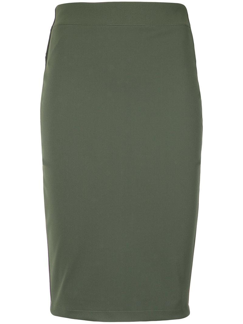 Discount Perfect Buy Cheap Shop For draped straight skirt - Black Gloria Coelho Outlet Excellent Cheap Really Nicekicks Online q4E5bkbtbz