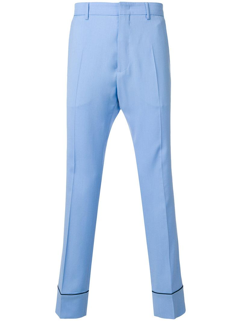 bootcut tailored trousers - Blue N°21 lwqEfrAOV