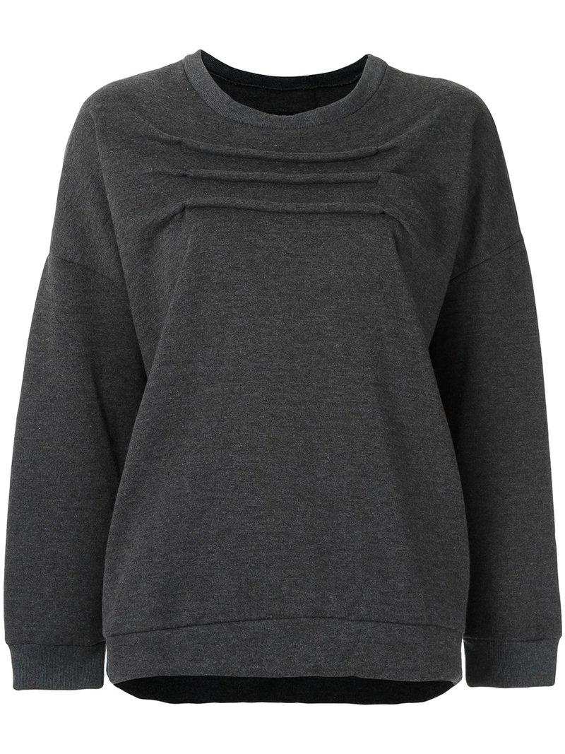 Raquel Davidowicz round neck sweatshirt Discount Supply Authentic For Sale Collections Online yzc4ofDQlj