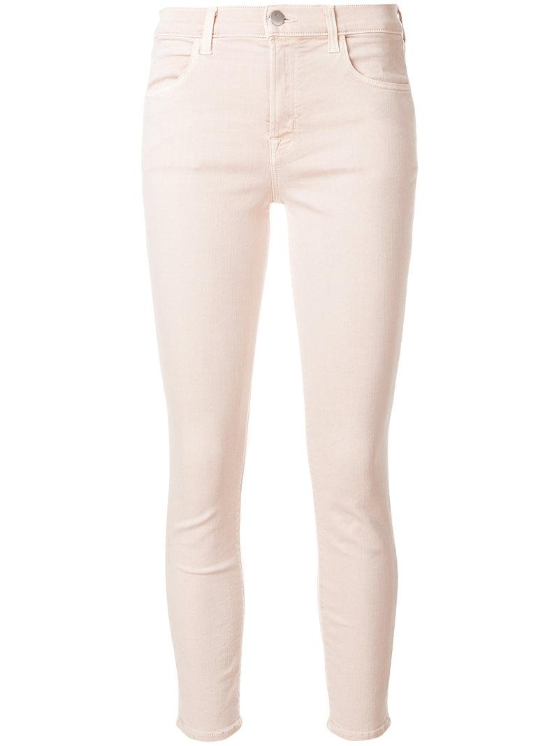 skinny cropped jeans - Nude & Neutrals J Brand Supply Online Manchester Buy Cheap Low Price Sale Browse vOmxupQtd