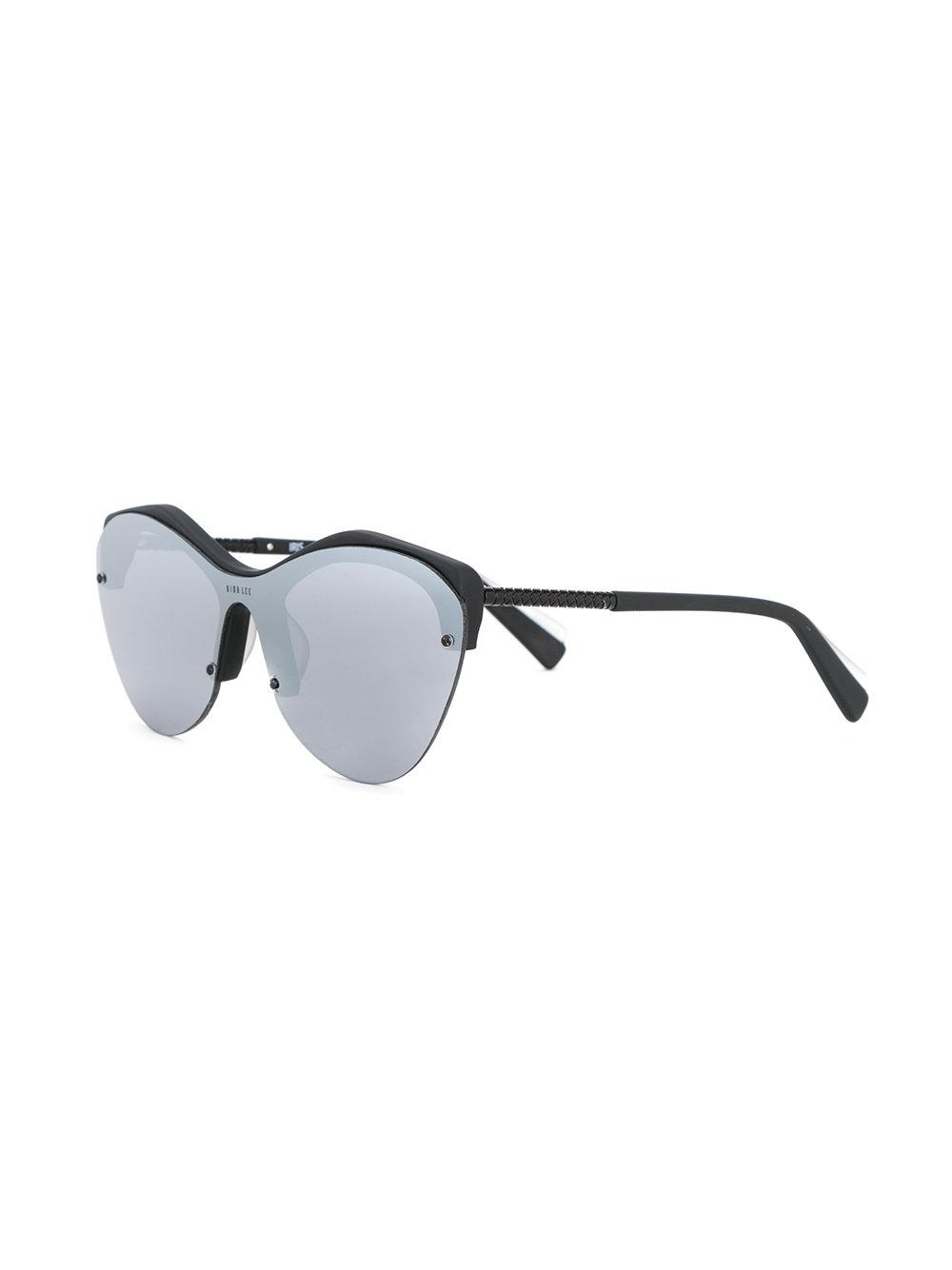 8511214f9f4b Dion Lee - Gray Smoke Mono Sunglasses - Lyst. View fullscreen