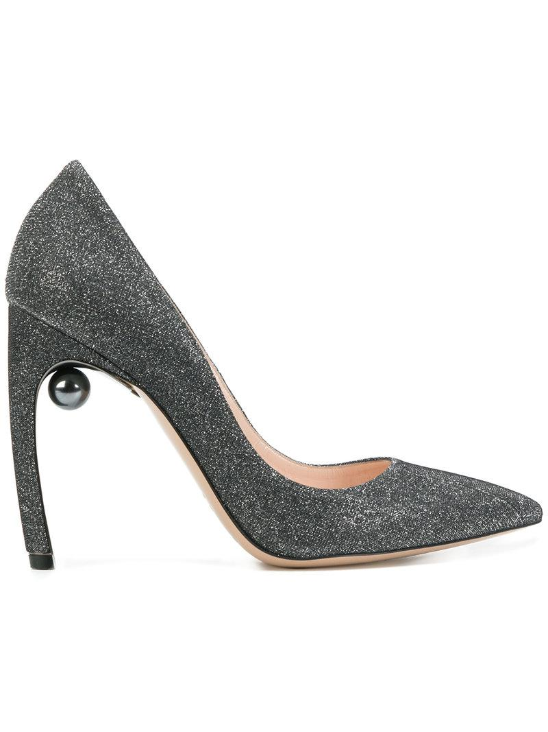 VV pumps - Metallic Nicholas Kirkwood