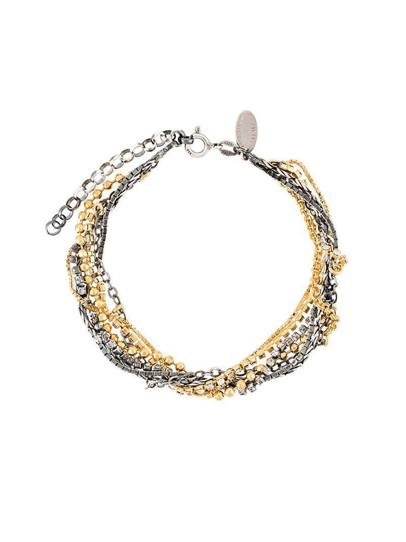 Iosselliani Silver Heritage bracelet - Metallic 4GFCKcp
