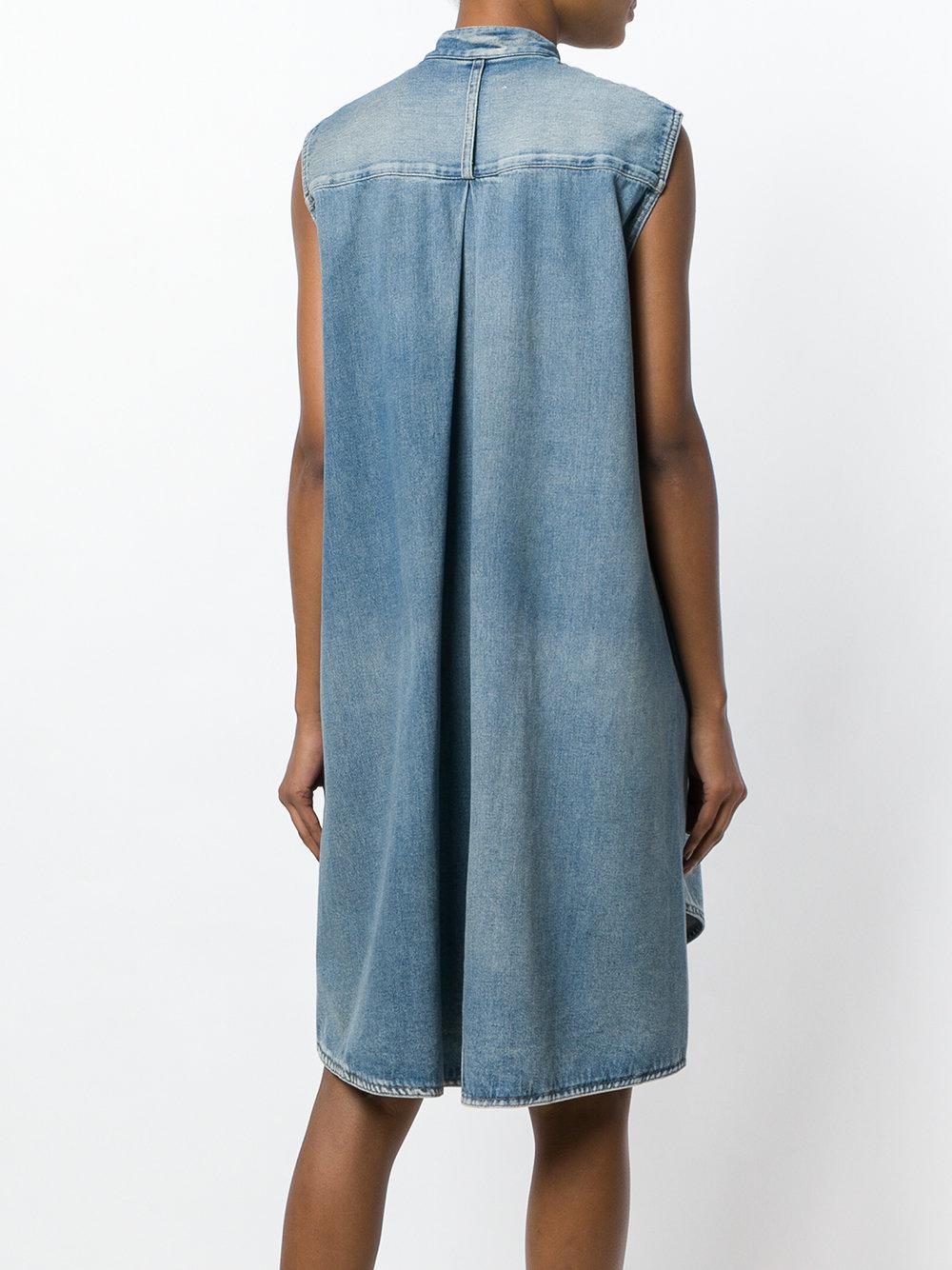 shift denim shirt dress - Blue Maison Martin Margiela Mup4wKjIN