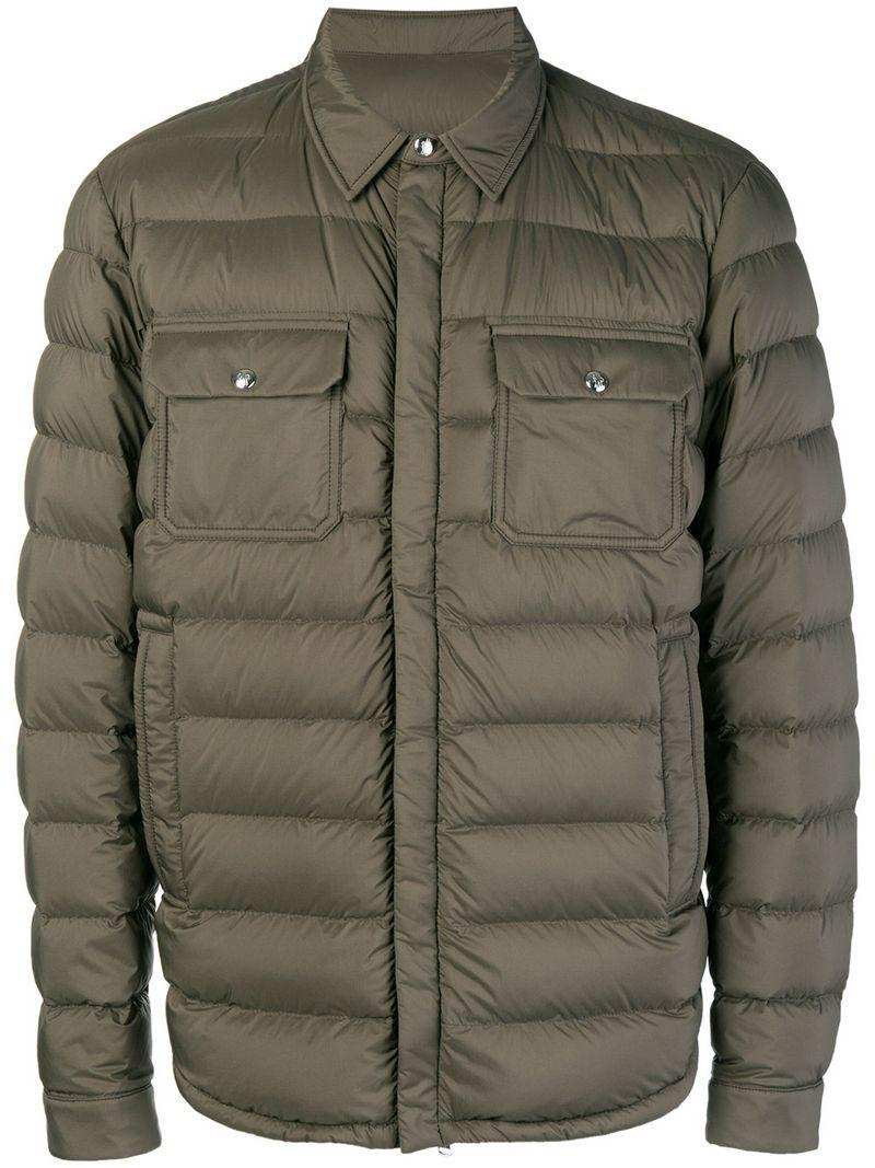 b0bf7bfb8852 the best attitude 63cb0 713a4 lyst moncler trionphe shirt jacket in ...