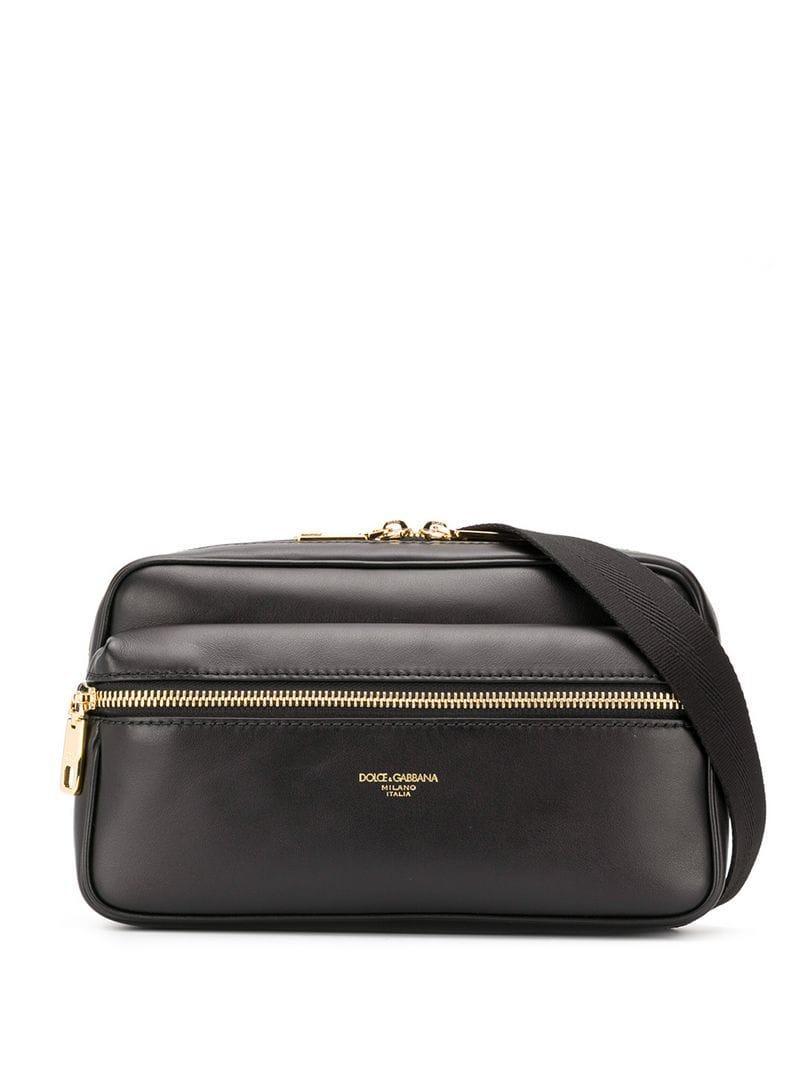 Lyst - Dolce   Gabbana Belt Bag in Black for Men b6c602dfb67af