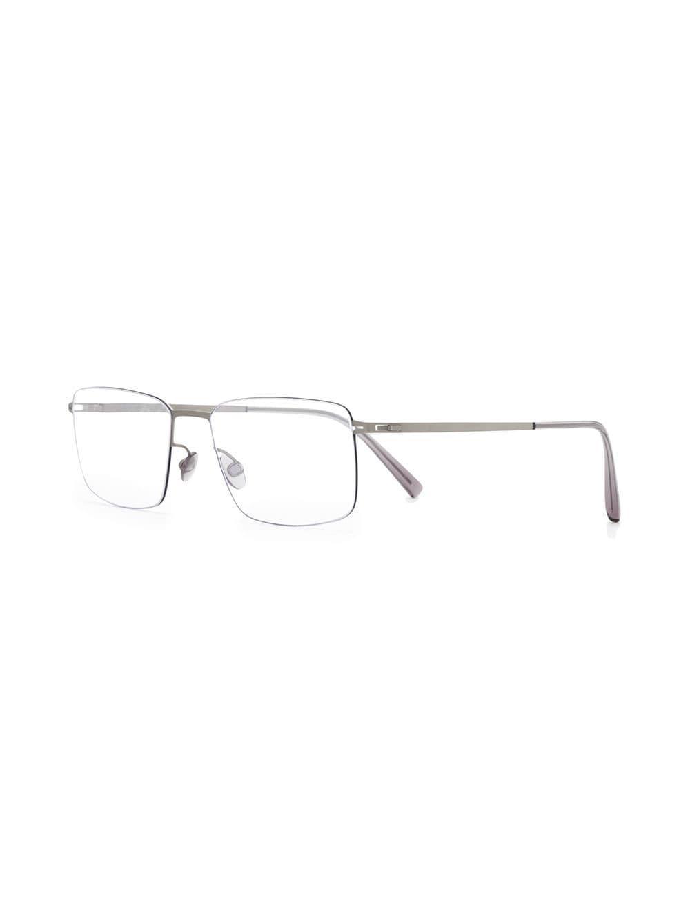 51c4b905175 Mykita Rectangular Glasses Frames in Metallic for Men - Lyst
