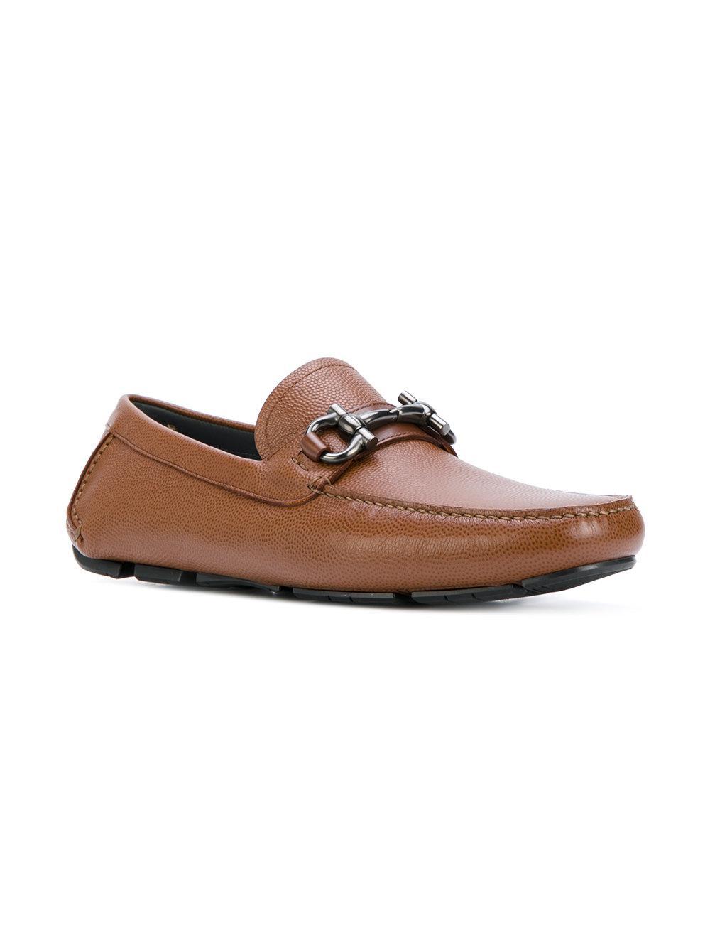 f928f884984b4 Ferragamo Parigi Loafers in Brown for Men - Lyst