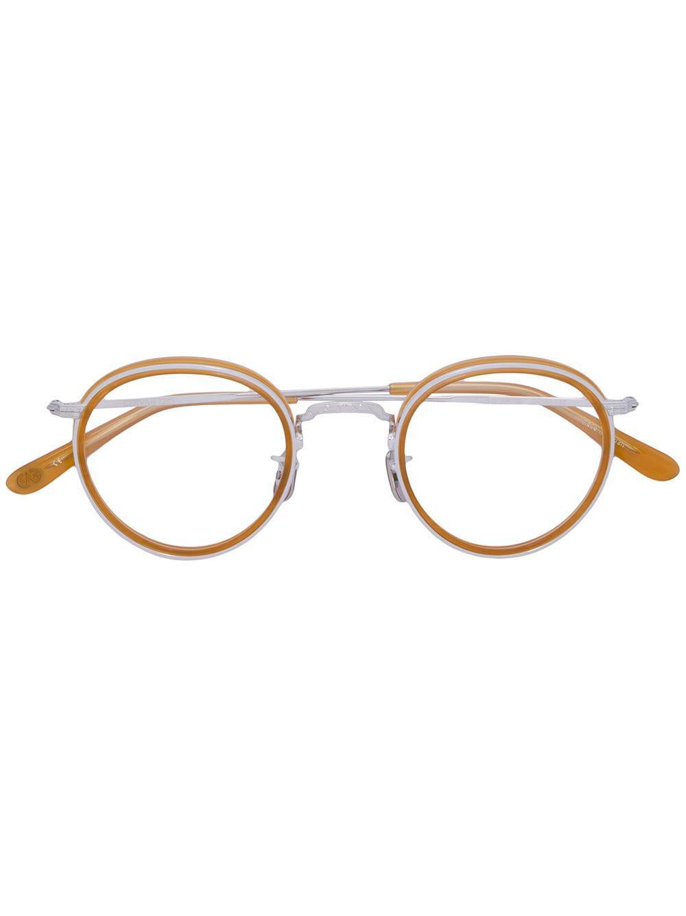 904a43472d Eyevan 7285 Round Frame Glasses - Lyst