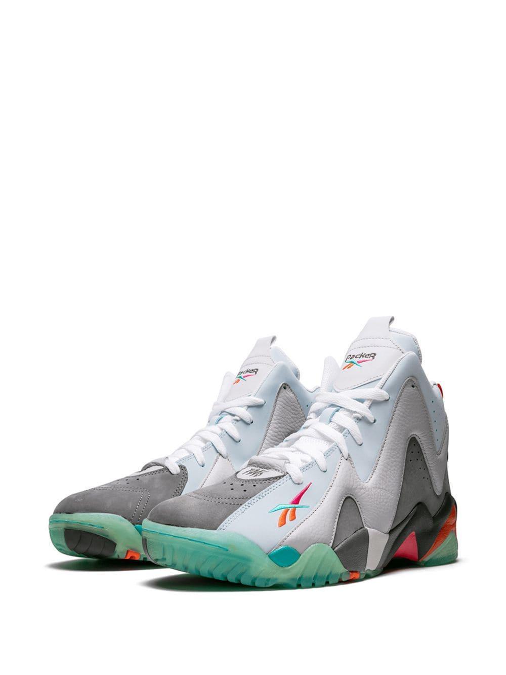 99c56ebaca12 Lyst - Reebok Kamikaze 2 Mid Sneakers in Gray for Men - Save 12%