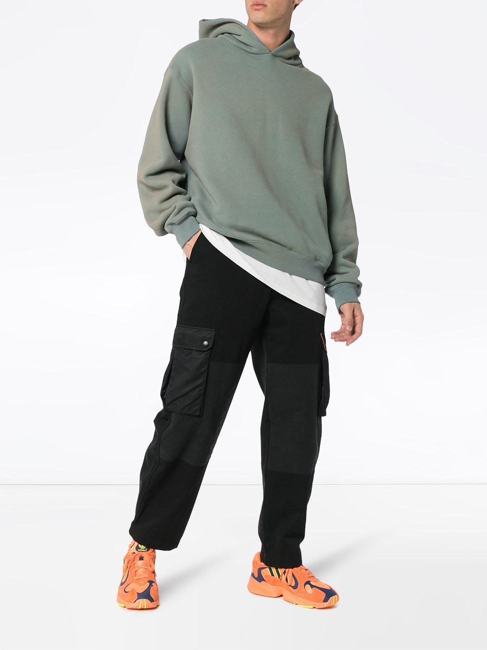 89fe6c172 Lyst - Yeezy Season 6 Classic Glacier Hoodie in Green for Men