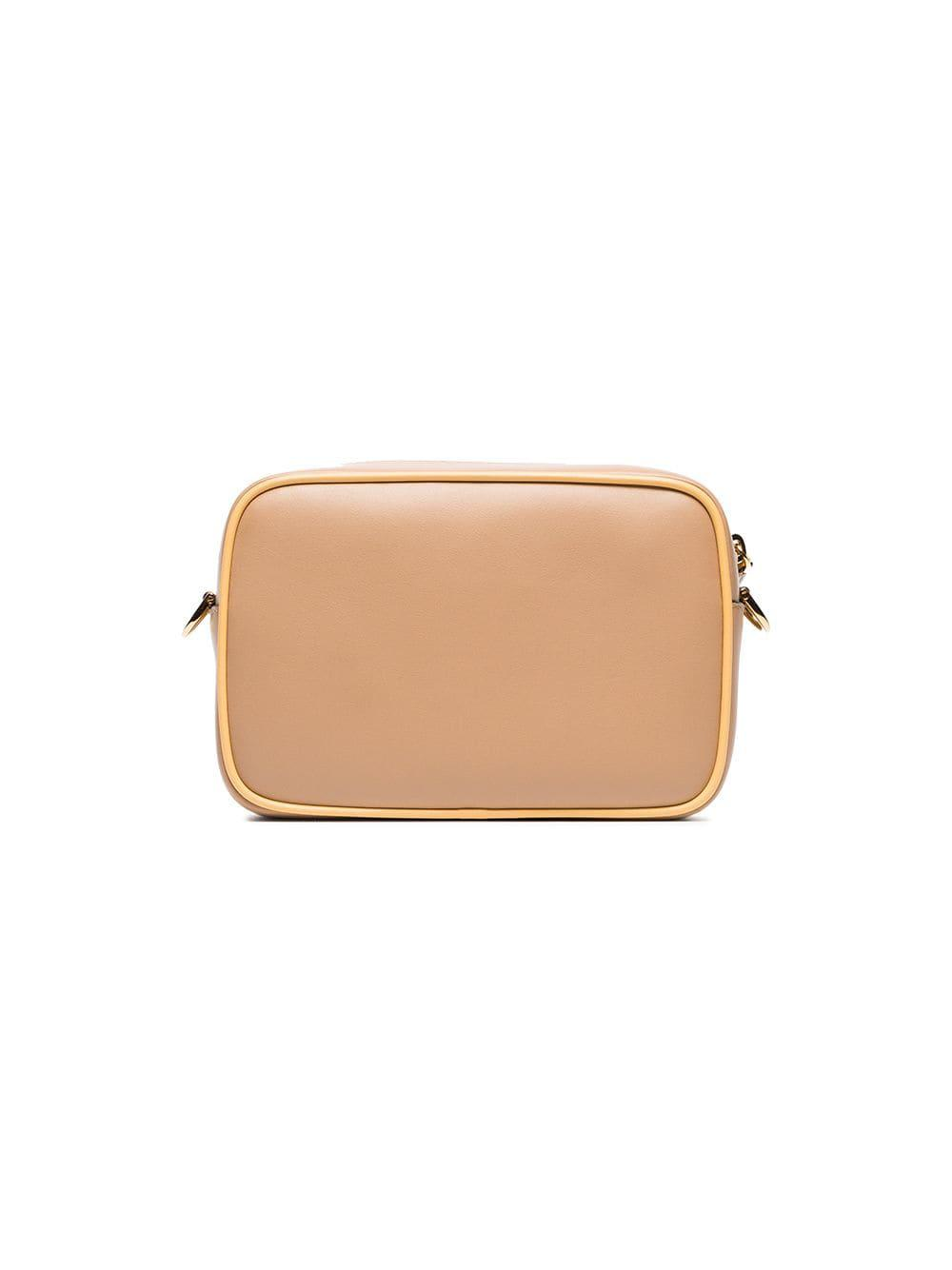 dec908034225 Fendi - Multicolor Nude Mini Camera Leather Cross-body Bag - Lyst. View  fullscreen