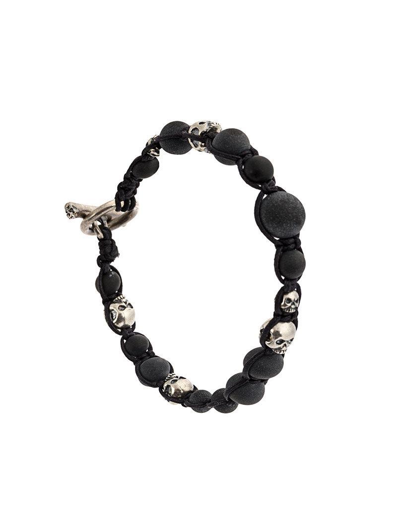 Tobias Wistisen Rift bead bracelet - Black 4TMpyaf2o