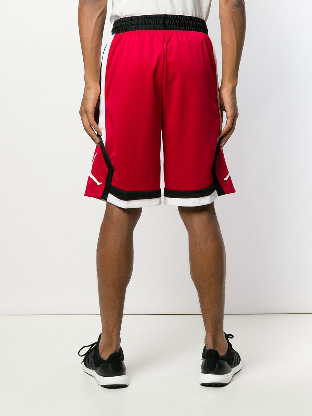 4573e20765e6 Nike Air Jordan Basketball Shorts in Red for Men - Lyst