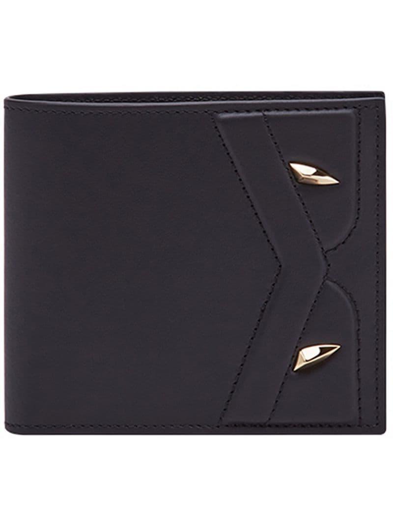 2988237e Lyst - Fendi Bifold Bag Bugs Wallet in Black for Men