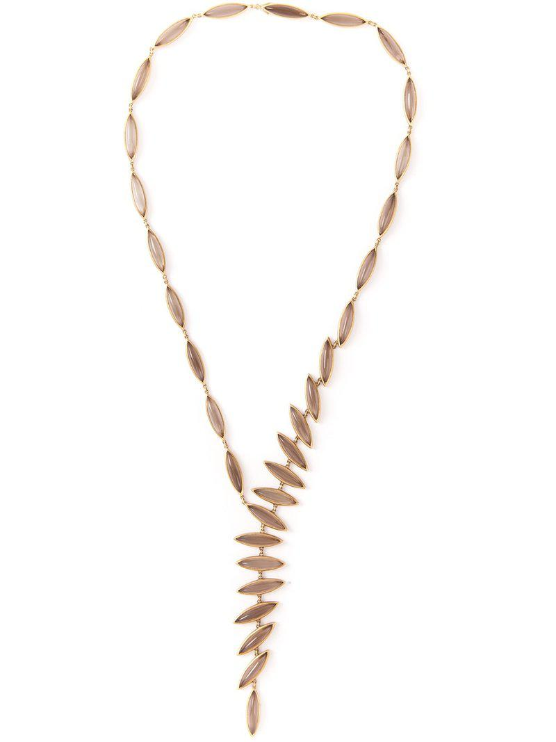 Antonio Bernardo Wing necklace - Metallic Iv2E9FdeNY