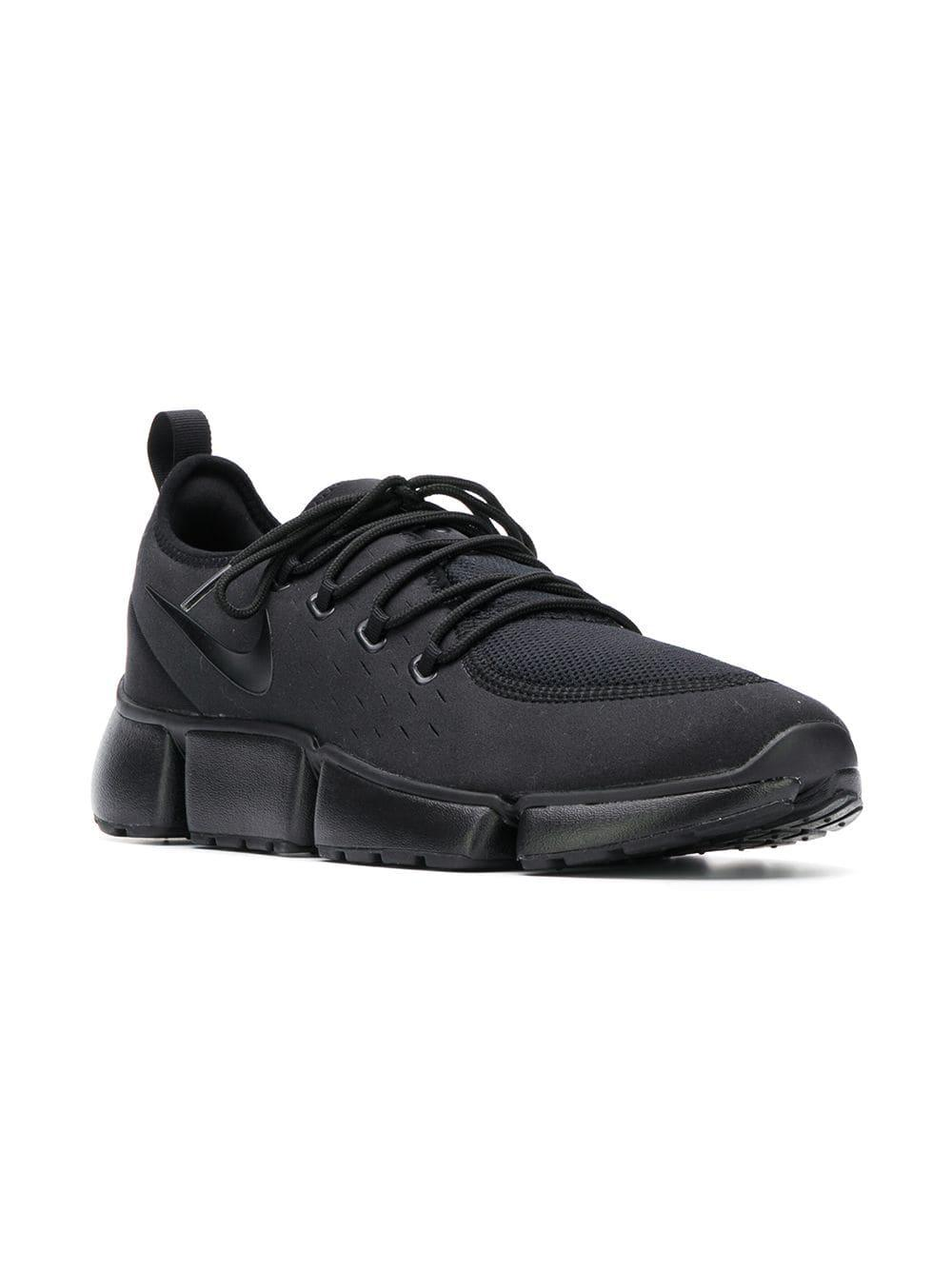 on sale ea331 381ae Nike Pocket Fly Dm Sneakers in Black for Men - Lyst