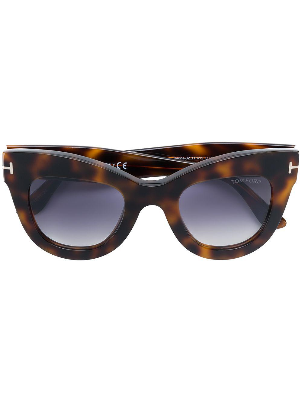 40786d573a Gallery. Previously sold at  Farfetch · Women s Cat Eye Sunglasses Women s Tom  Ford ...
