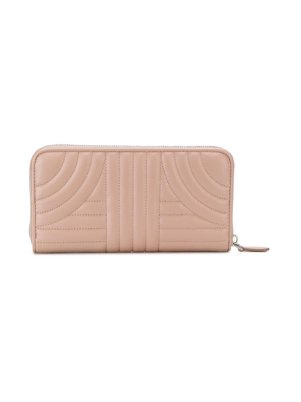 bevelled continental wallet - Nude & Neutrals Prada ctfN3qrIc
